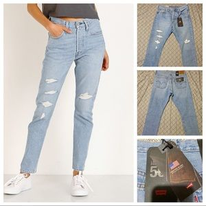 Levi's 501 Skinny *Made in USA* Jeans Humble Pie